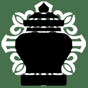 Гранитные вазы, лампадки